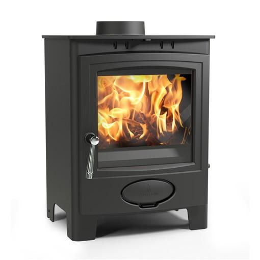 Aarrow Ecoburn Plus 5 kW DEFRA Wood Burning Stove - Best 5kW Wood-burning Stove And Multi-fuel Stoves