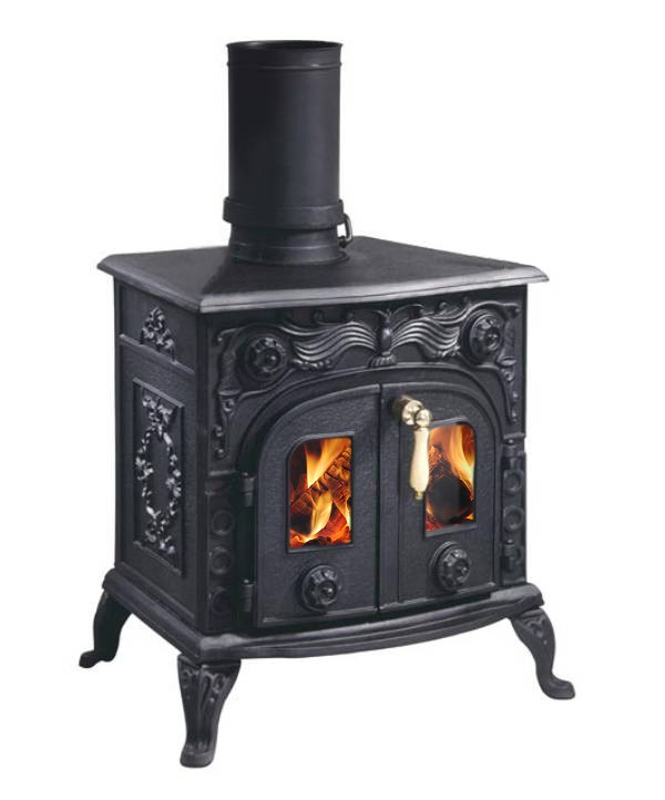 Evergreen ST2800A Rowan 8 kW Multi Fuel Wood Burning Stove