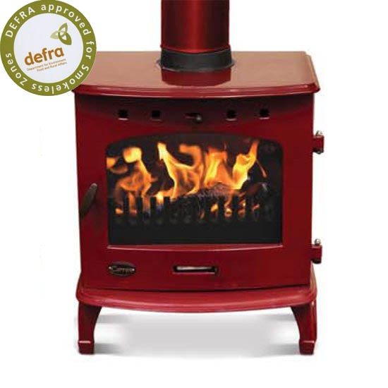 carron_red_wood_burning_stove_6_2_1 (1) - 8 Beautiful Red Wood-burning Stoves