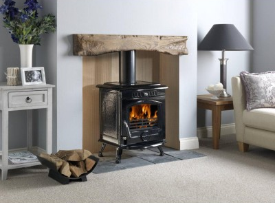 Property: Woodburning stove add value home