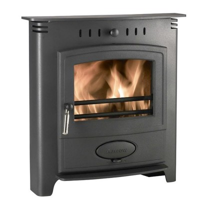 Inset Log Burners - Aarrow Ecoburn 7kW