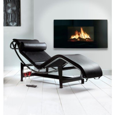 Celsi Puraflame Wall Mounted Curved