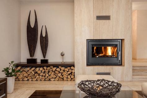 House dry logs