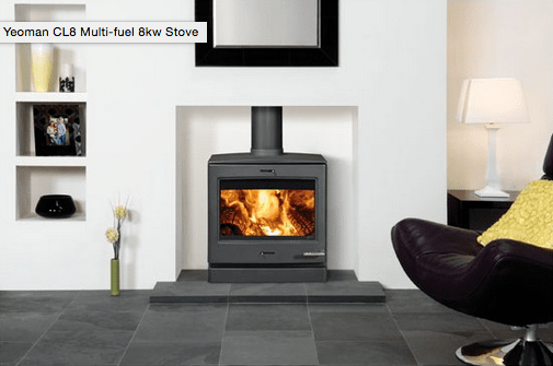 Charcoal on a multi fuel stove or woodburner