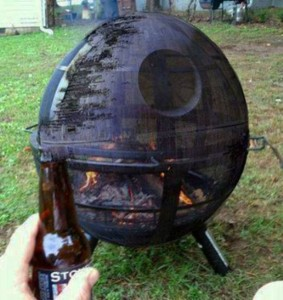 Death Star Wood Burner