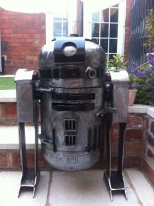R2D2 Wood Burner