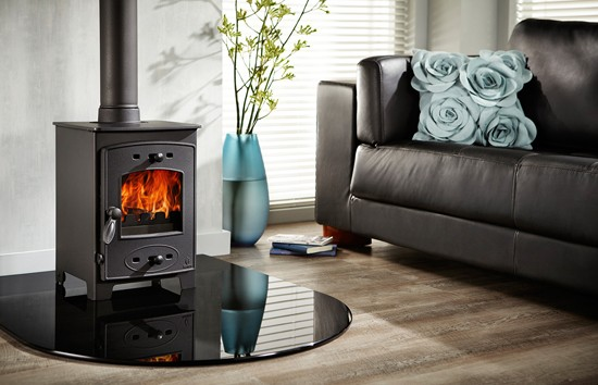 What is the smallest wood-burning stove?