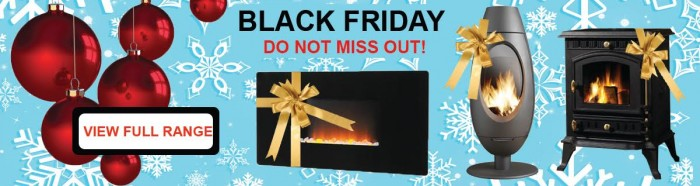 Black Friday Deals Woodburners