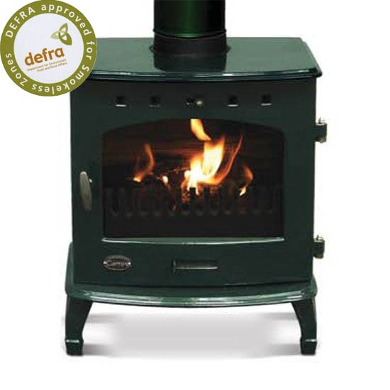 Carron Green Wood Burning Stove