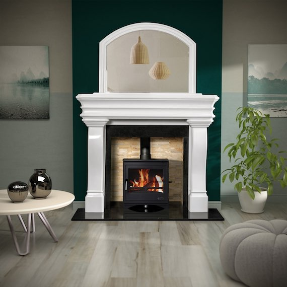 Mazona Oxford multi fuel stove woodburner