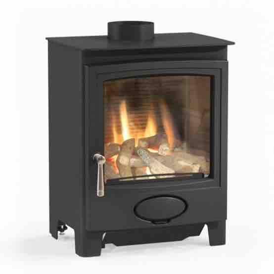 Gas Stove Looks Like A Woodburner