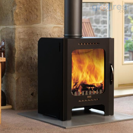 Firebelly FB Black 5kw Woodburner