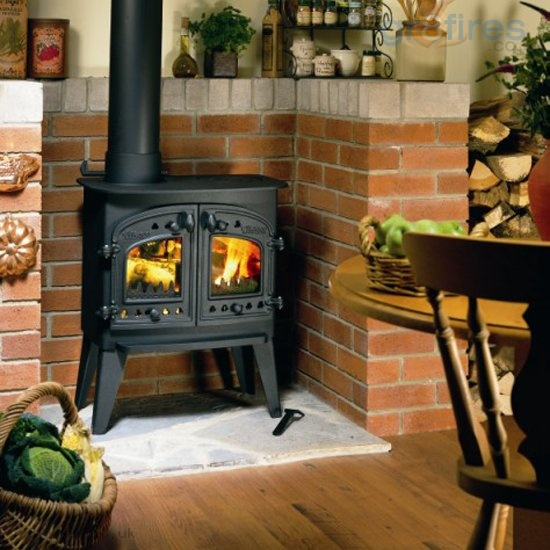 Installing a wood-burning stove