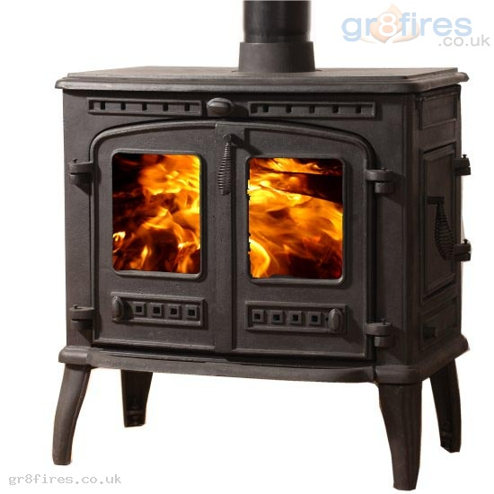 Mazona Orlando 10kW Multi-Fuel Stove Double Door Large