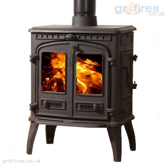 Mazona Orlando 8kW Multi-Fuel Stove Double Door Medium