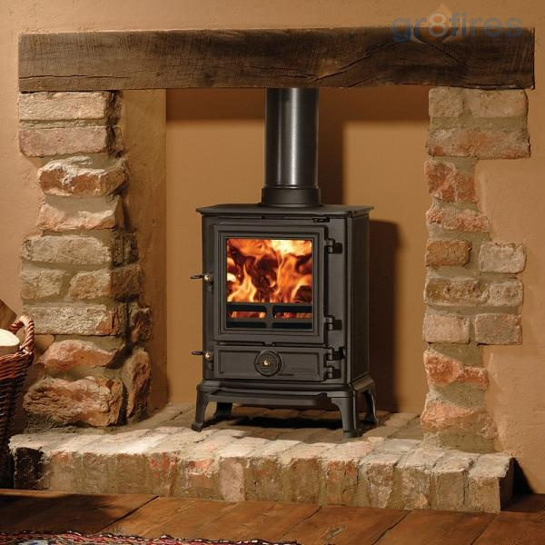 Why a wood-burning stove is perfect for the snow