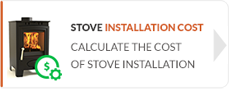 How much does it cost to install a stove